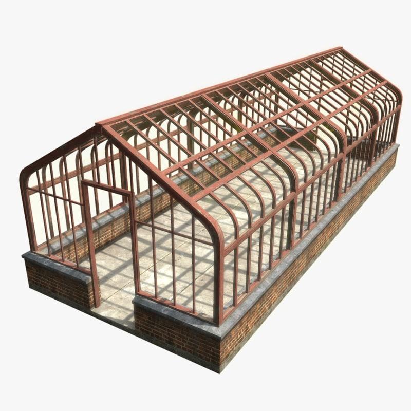 greenhouse polys unreal 3d max