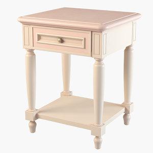 bedside table ferretti obj