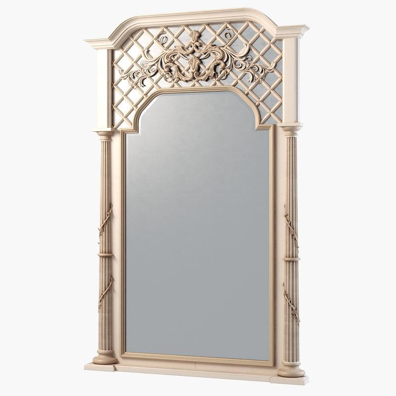 obj mirror savio firmino