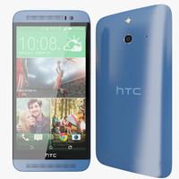 HTC ONE E8 Blue