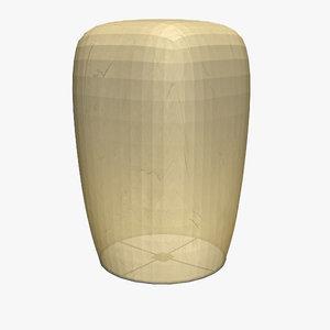 floating lantern 3d lwo