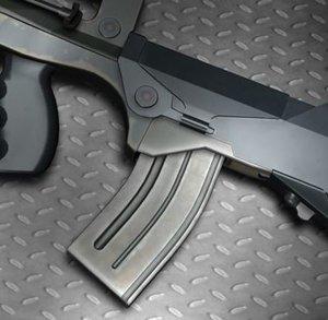 famas assault rifle 3d model