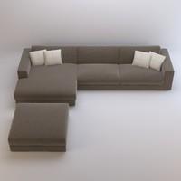 arketipo best sofa 3d model