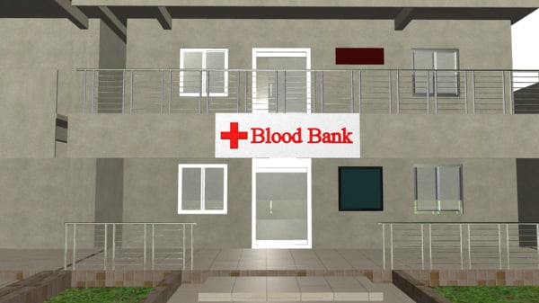 3d obj blood bank