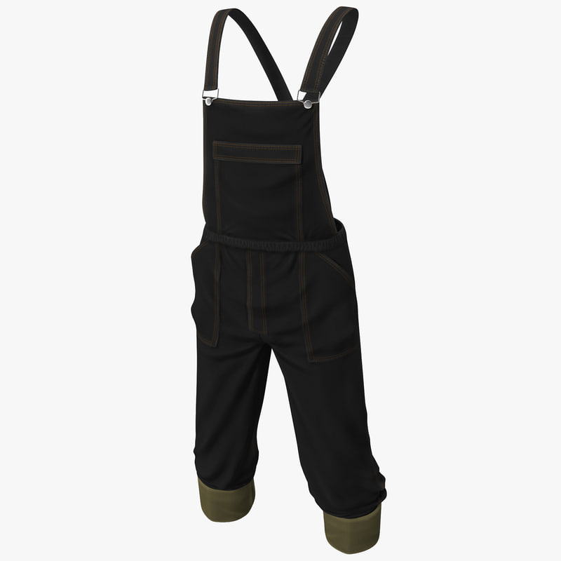 3d max overalls jeans