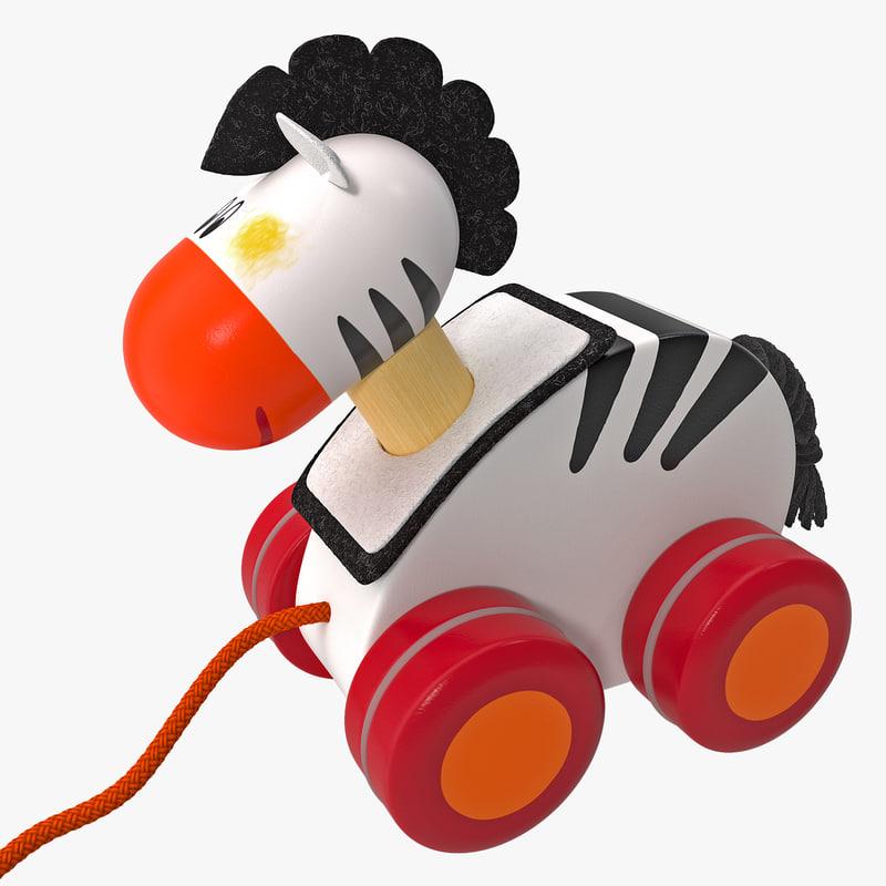 max toy zebra pull