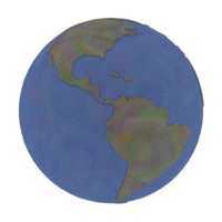3d model earth world