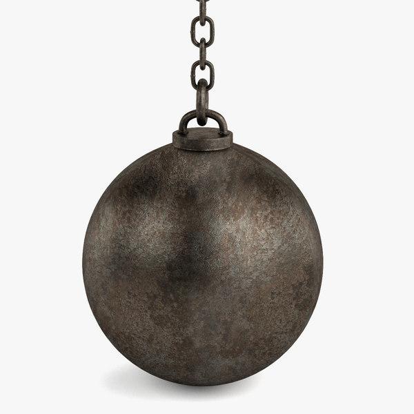 3d destruction ball