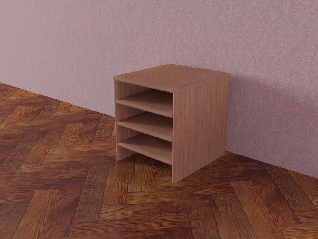 3d stand model
