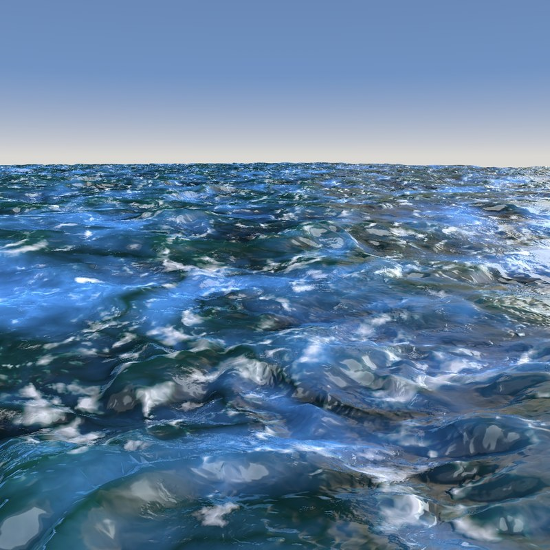 cinema4d ocean water