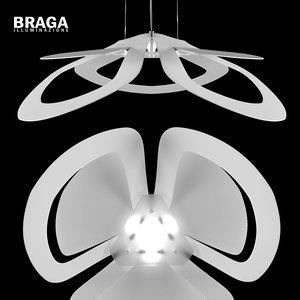 braga loto lamp 3d model