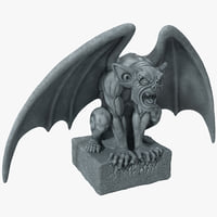 Gargoyle Statue 3