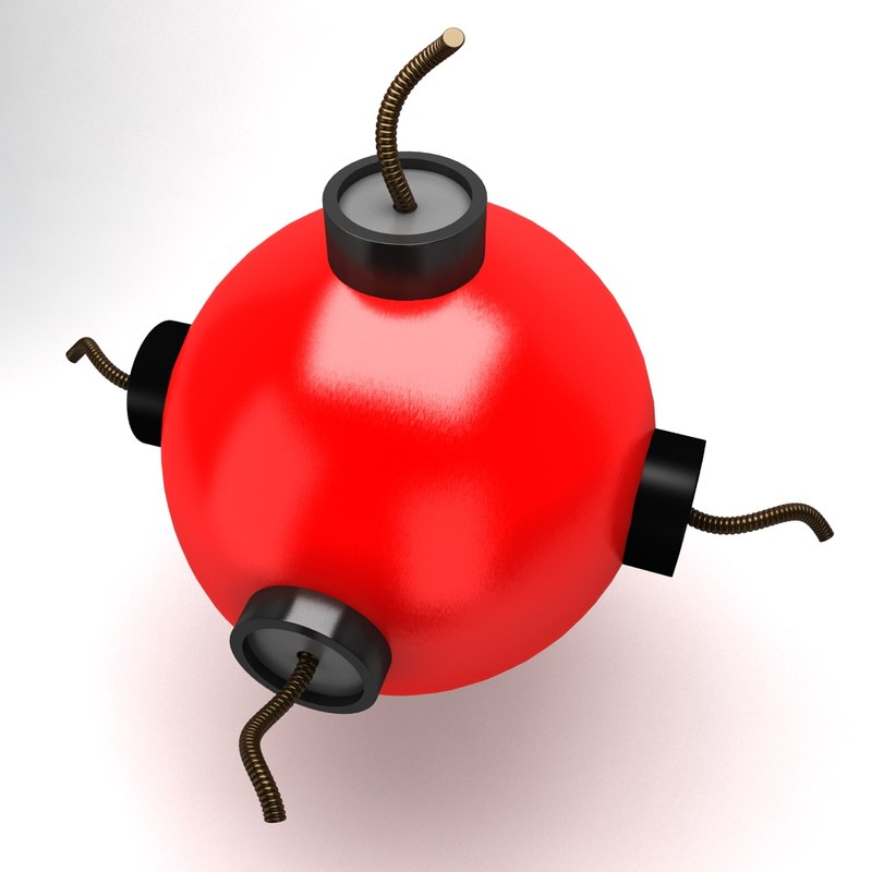3ds max toy bomb