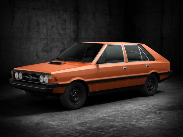 3d fso polonez 1980 model