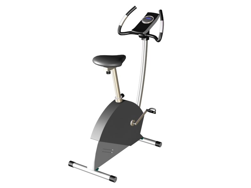 3ds max exercise bike