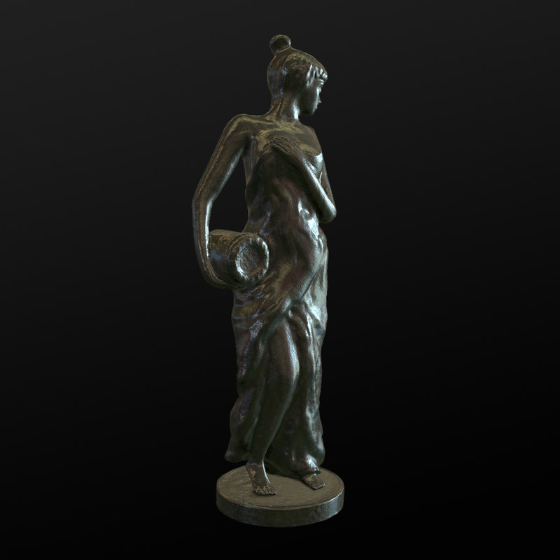 3d model sculpture female