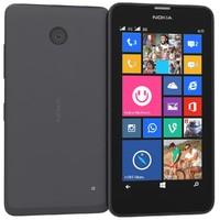 Nokia Lumia 630 635 Dual SIM Black