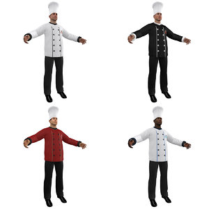 3d pack chef