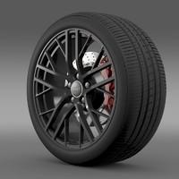 3dsmax audi r8 lmx wheel