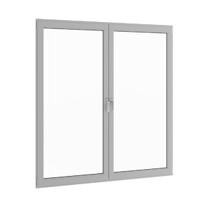 3d window metal model