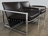 max modern stylish leather twin