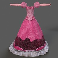 princess dress 3ds