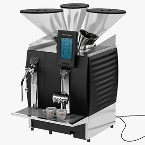 3ds max coffee espresso machine schaerer