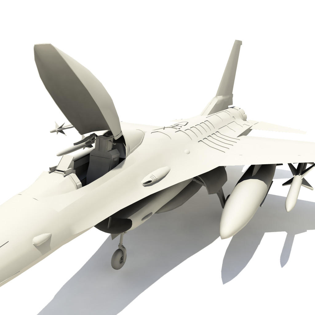 f-16 fighter 3d x
