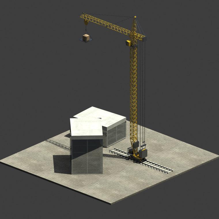 building crane max