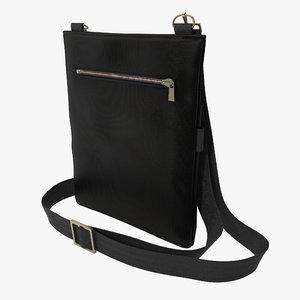 3dsmax mens shoulder bag