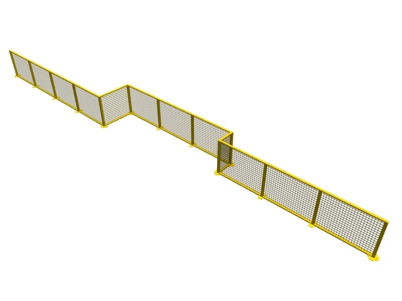 3dsmax short fence