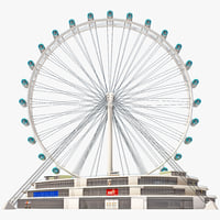 singapore flyer observation wheel max