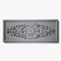 wall decor panel el48 3ds