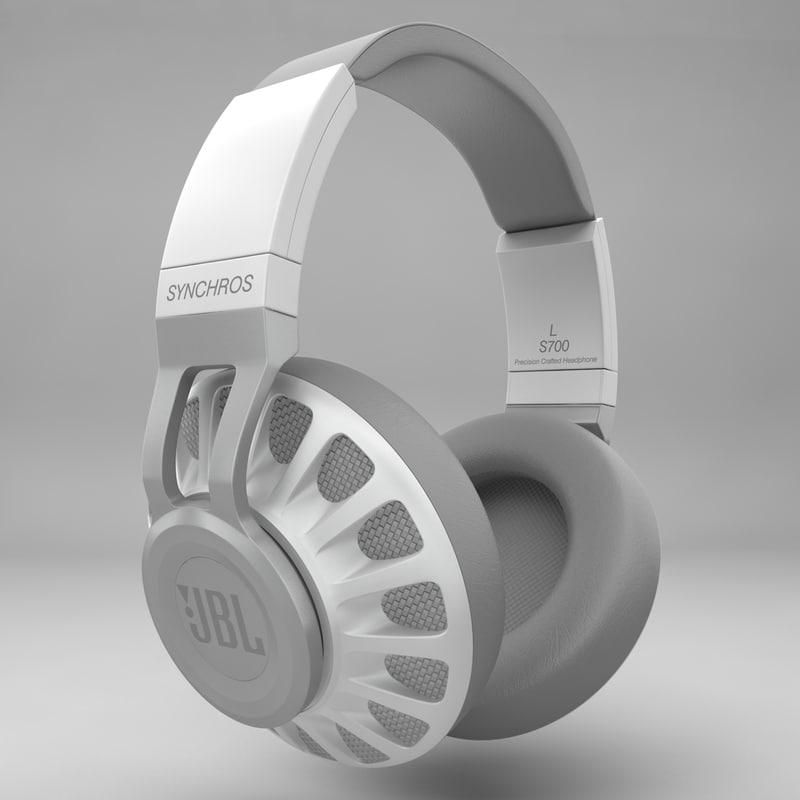 3ds headphones jbl s700 white