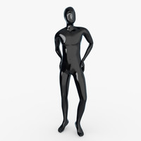 3d male mannequin model