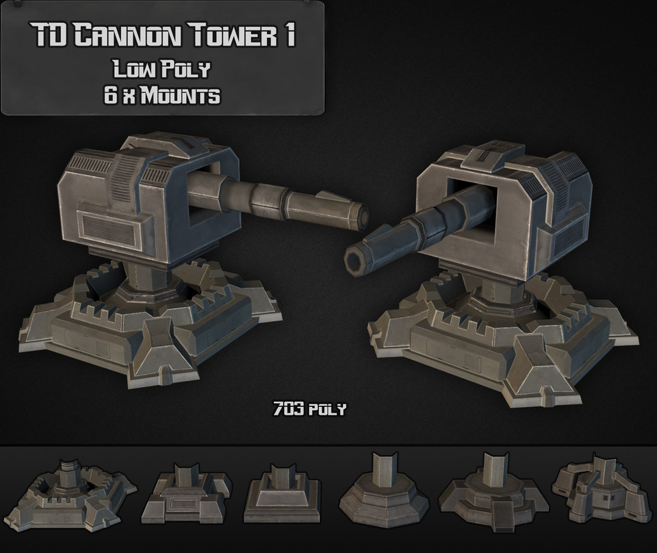 3ds td cannon tower 01