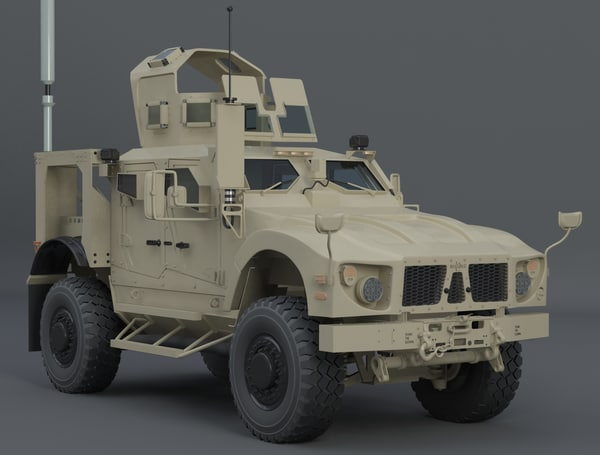 oshkosh atv 3d model