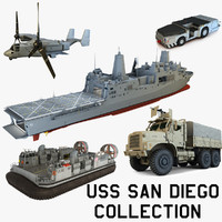 USS San Diego Collection