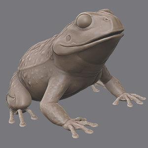 3d toad print