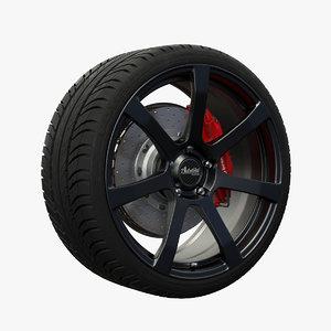 3dsmax advanti raptor wheel