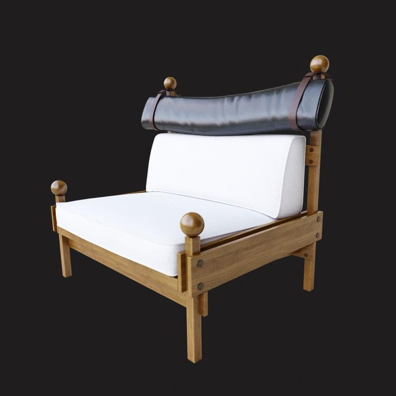 3d model espasso tonico chair
