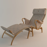 3ds max dux pernilla chair bruno