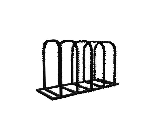 3d max bike rack