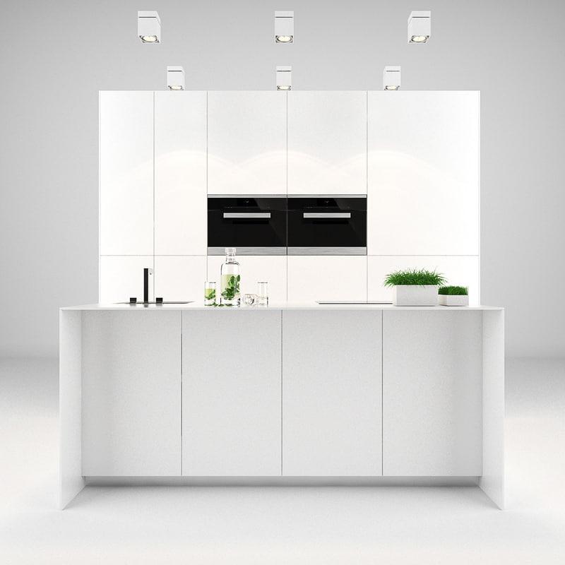 bulthaup kitchen 3d model