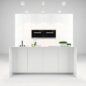 bulthaup kitchen 3d model