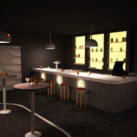 3d model stonette 1 nightclub