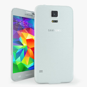 samsung galaxy s5 mobile phone 3d max
