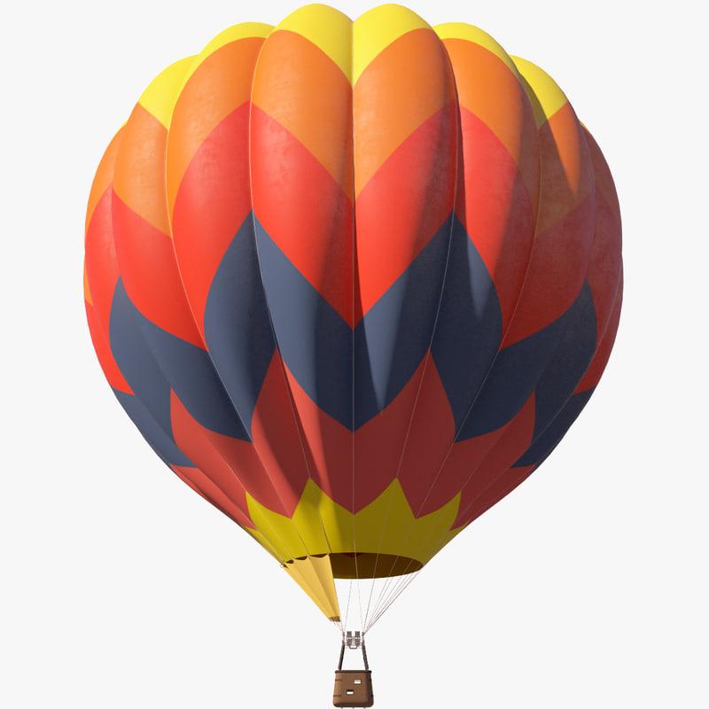 3d air baloon
