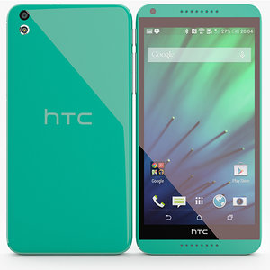 htc desire 816 3d max