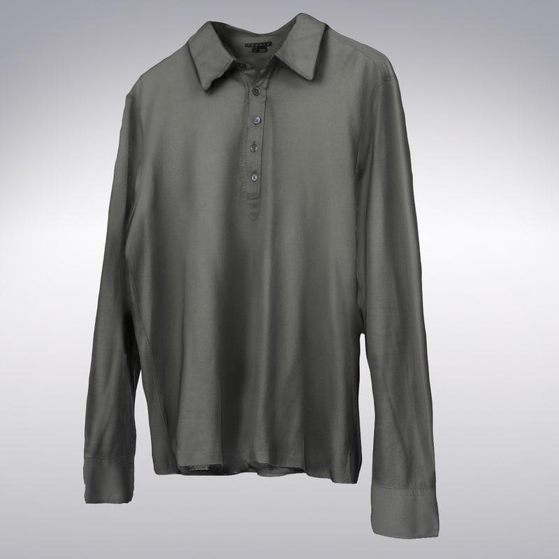 3d men s light gray